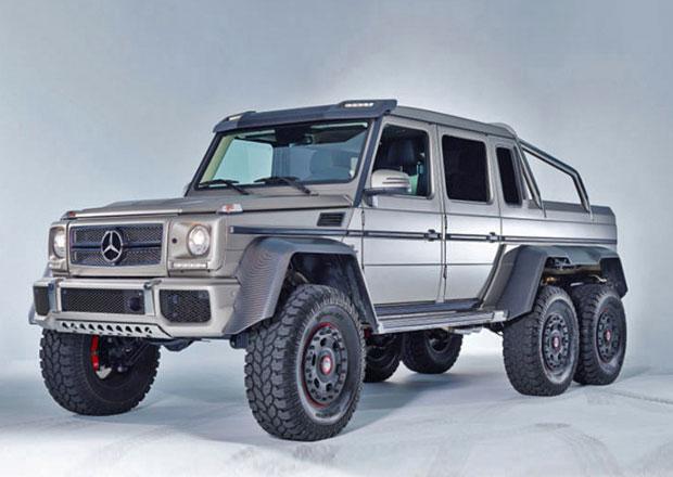 Mercedes-Benz G 63 AMG 6x6 jako Panzer: V americké úpravě za 25 milionů korun