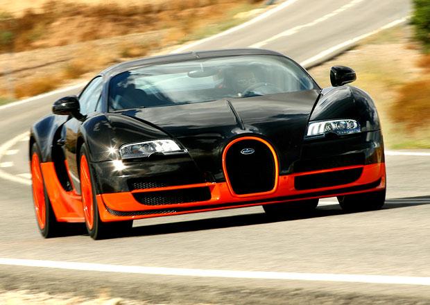 Bugatti Veyron je ztrátový. Až moc