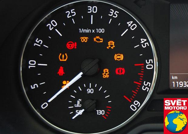 Znáte kontrolky v autě? Nebuďte ignoranti ani panikáři