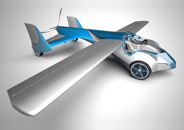 Aeromobil 2.5: Slováci mají létající automobil!