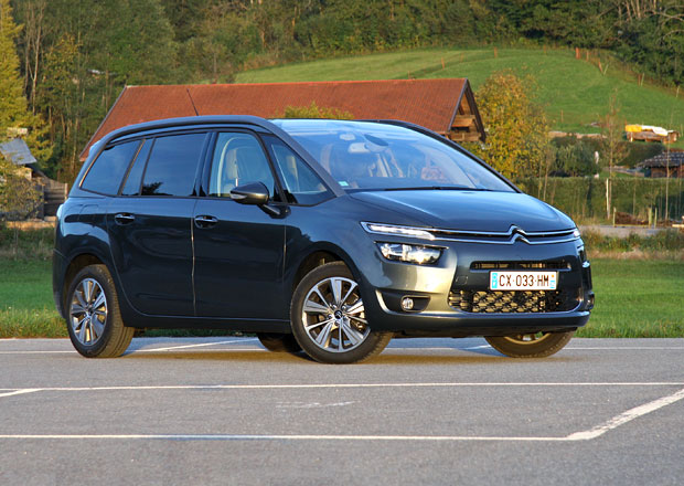 Citroën Grand C4 Picasso: První jízdní dojmy