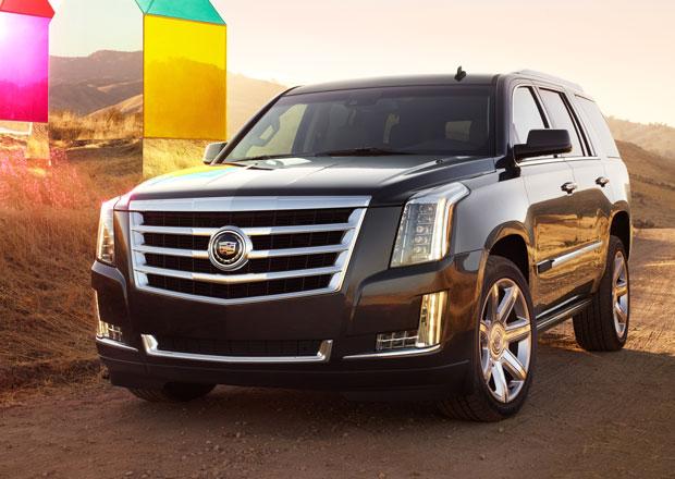 Cadillac Escalade čtvrté generace: Nový osmiválec 6,2 l (420 k) a až 8 míst