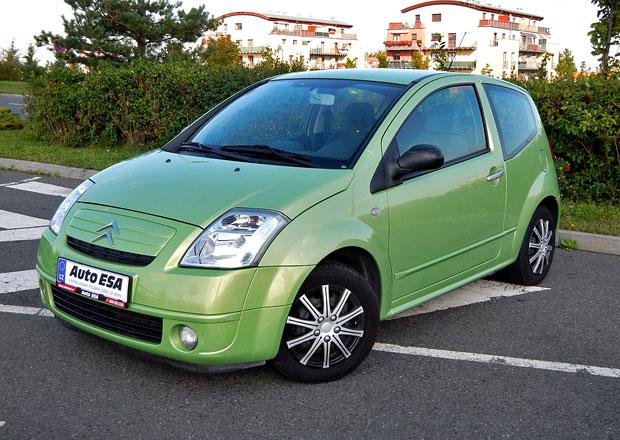 Ojetý Citroën C2 1.4: Prostor jenom pro čtyři