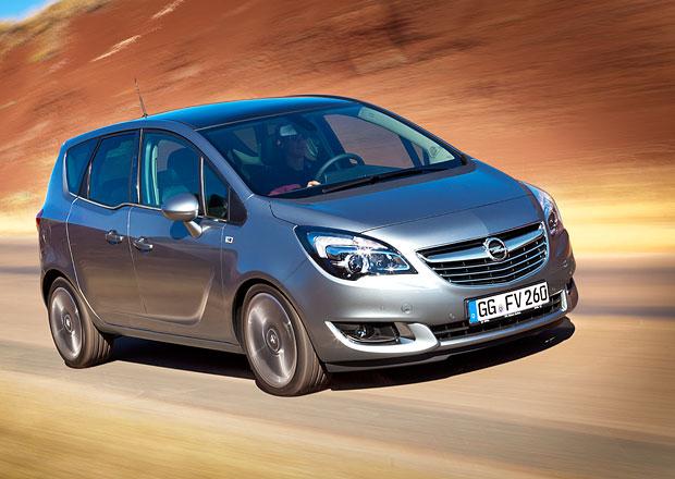 Opel Meriva má facelift: Příď z Insignie a 1.6 CDTI ze Zafiry Tourer
