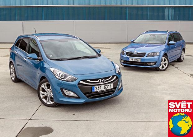 Hyundai i30 1.6 CRDi vs. Škoda Octavia 1.6 TDI