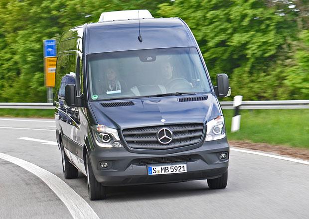 Mercedes-Benz Sprinter Euro 6: Bezpečí a ekologie