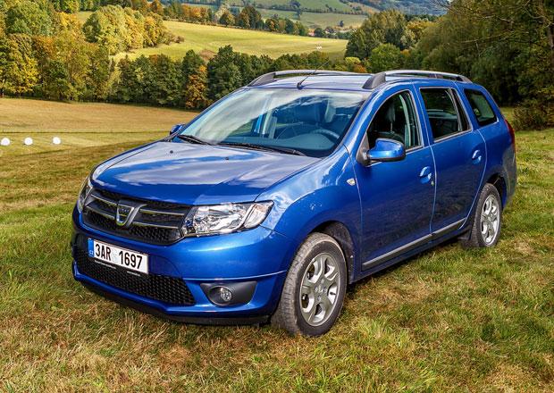 Dacia Logan MCV: Nejlevnější kombi na trhu stojí 179.900 Kč