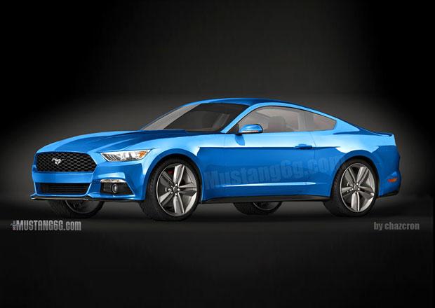 Takhle bude vypadat nový Ford Mustang 2015