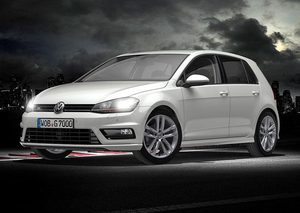 VW Golf dostane přístup na internet a příplatkový paket R-Line