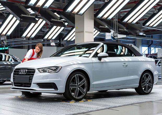 Audi A3 Cabriolet se už vyrábí, vzniká v Györu
