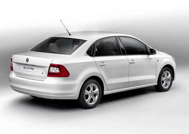 Škoda Rapid: Také sedan pro Indii se dočkal vylepšení