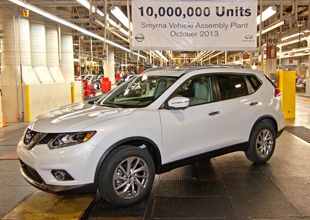 Nissan X-Trail se už vyrábí v USA, rovnou slaví jubileum