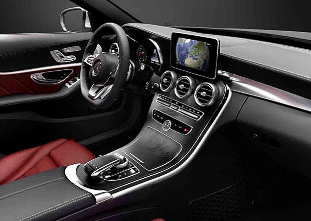 Mercedes-Benz zveřejnil první fotografie interiéru nové třídy C (W205)