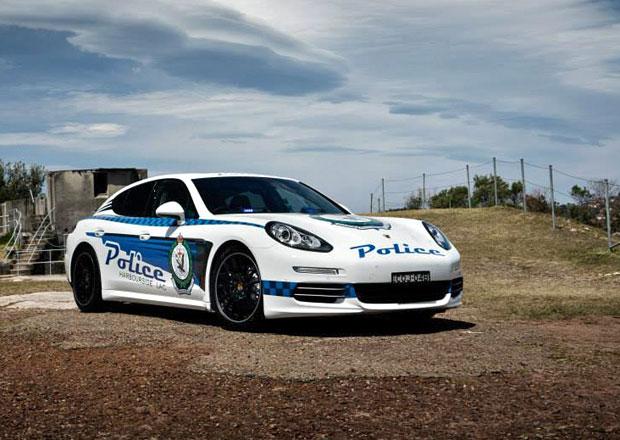 Porsche Panamera ve službách policie u protinožců