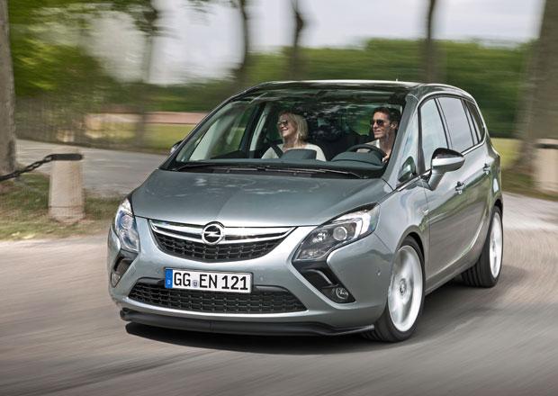 Opel Zafira Tourer je nyní levnější a s novým motorem 1.6 SIDI Turbo/149 kW