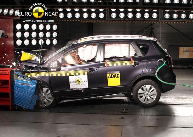 Euro NCAP 2013: Suzuki SX4 – Poprvé s pěti hvězdami