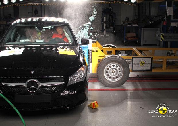 Euro NCAP 2013: Mercedes-Benz CLA – Následování třídy A