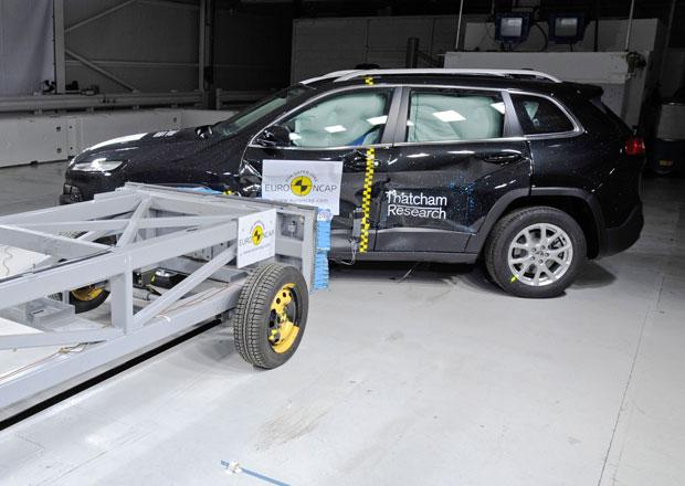 Euro NCAP 2013: Jeep Cherokee – Poprvé s pěti hvězdami