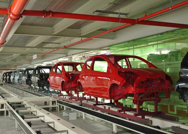 V�roba v kol�nsk�m TPCA m� letos klesnout na 200.000 aut