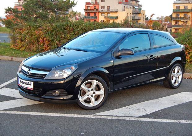 Ojetý Opel Astra GTC 1.9 CDTi: Rychle a spořivě