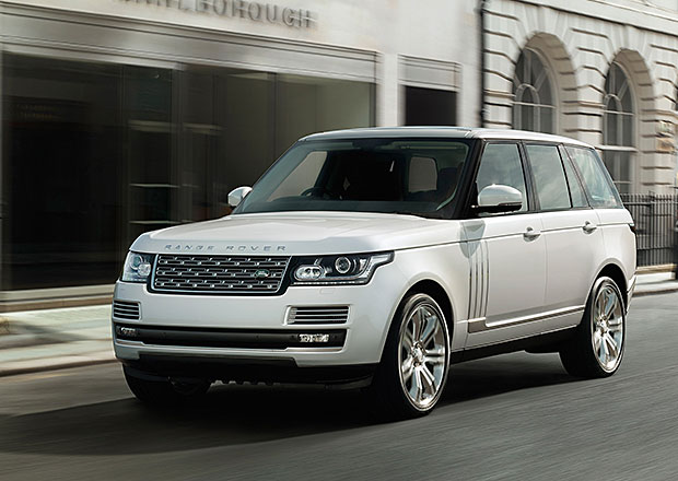 Range Rover s prodlou�en�m rozvorem: O 14 cm v�ce luxusu