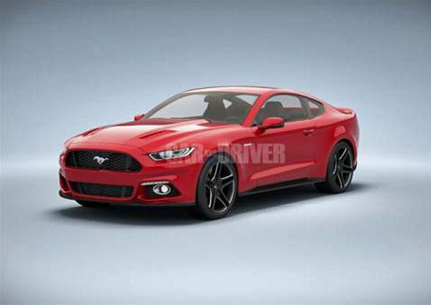 Nový Ford Mustang vyzrazen