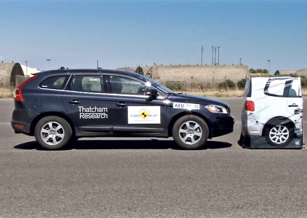 Euro NCAP testoval automatické brzdové systémy (video)