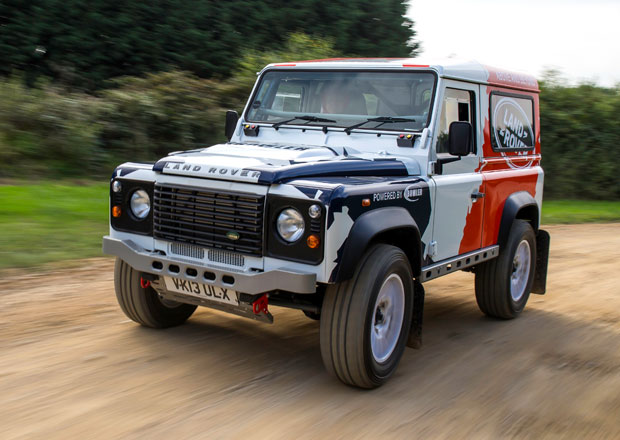 Land Rover Defender Challenge: Defy t�eba i pro Dakar