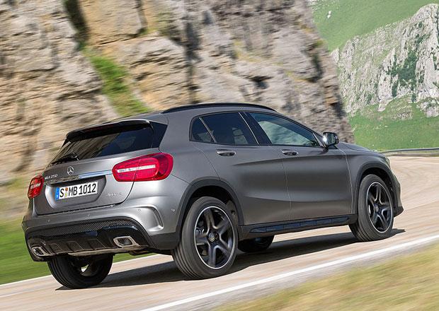 Mercedes-Benz GLA: Prototypy během vývoje najely 1,2 milionu km