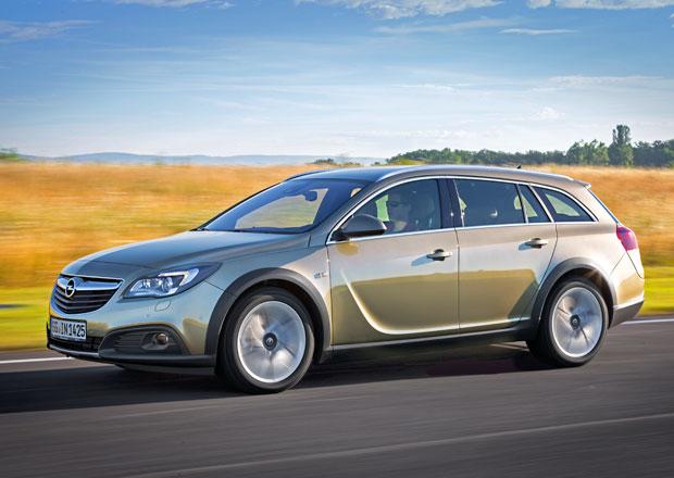Opel Insignia Country Tourer: Zvýšené kombi stojí od 783.900 Kč
