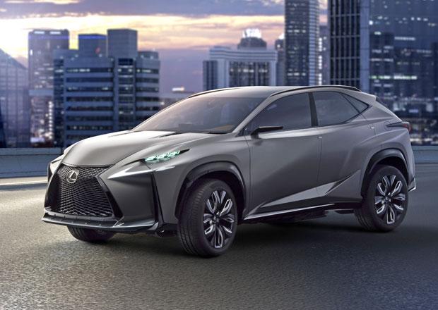 Lexus LF-NX Turbo předvede nový přeplňovaný dvoulitr