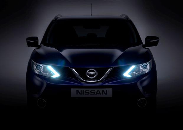 Nový Nissan Qashqai odhaluje design přídě