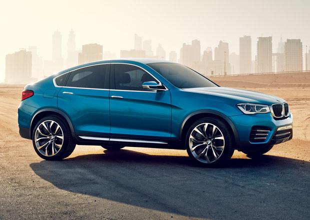 BMW X4 se v sériové podobě představí v Ženevě
