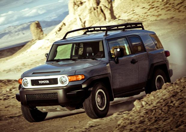Retro SUV Toyota FJ Cruiser kon��, lou�� se edic� Trail Teams Ultimate