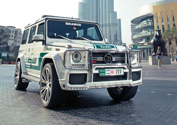 Brabus B63S - 700 Widestar: Nová hračka pro dubajskou policii