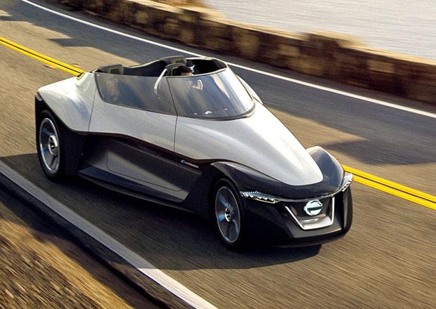Nissan BladeGlider: Třímístný DeltaWing naznačuje budoucí sporťák (+video)