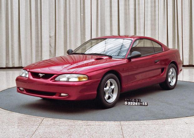 Ford ukázal, jak mohl Mustang vypadat před 20 lety
