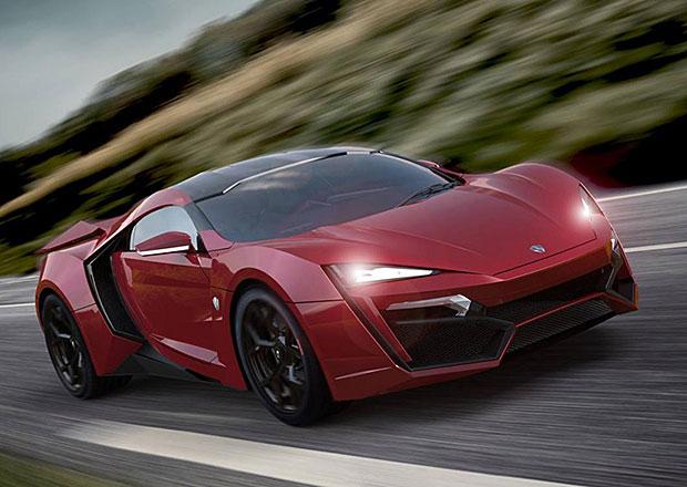 W Motors Lykan Hypersport: 770 koní za 2,5 milionu euro
