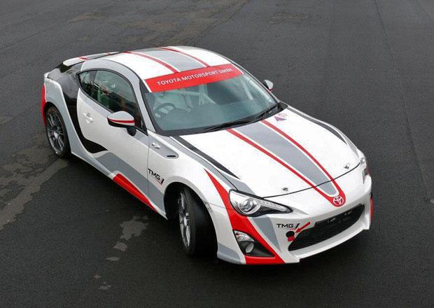 TMG vyvíjí Toyotu GT86 pro rallye