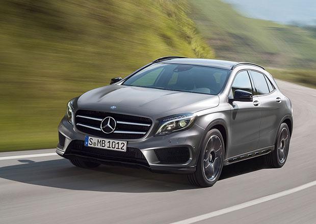Mercedes GLA 180 CDI: Crossover od Mercedesu se dočká nejlevnější verze