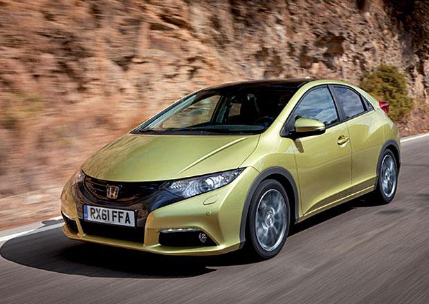 Honda Civic: Turbodiesely zlevnily o 50.000 Kč