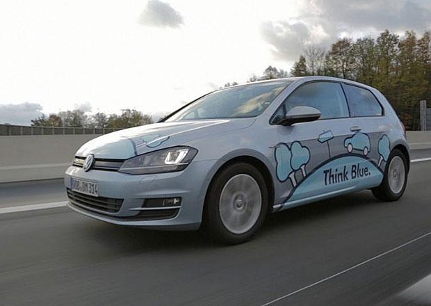 VW Golf TDI BlueMotion ujel na jednu nádrž 1.602 km