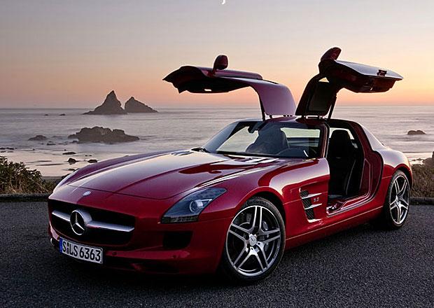 Mercedes-Benz SLS AMG Final Edition: Rozloučení v Los Angeles