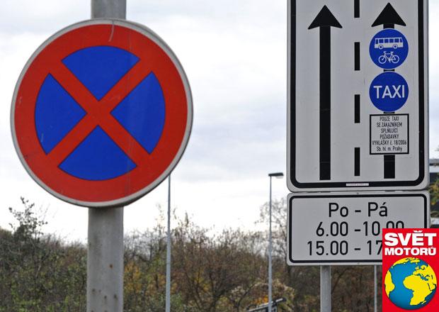 Vyhrazené pruhy pro taxi: Jen pro vyvolené