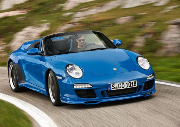 Porsche 911 Speedster se m�me do�kat i v generaci 991