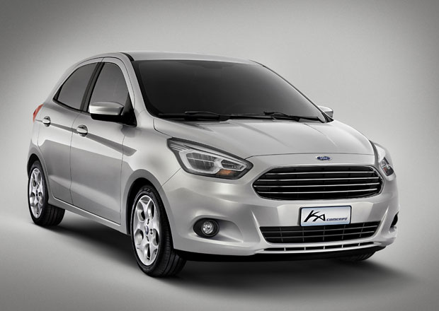 Ford Ka Concept: Nová generace s pěti dveřmi. Jen pro Brazílii?