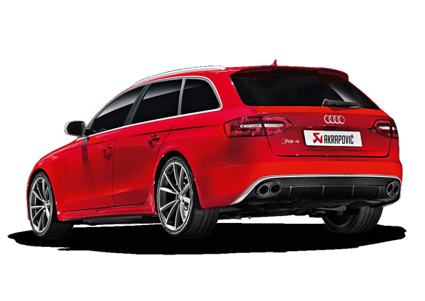 Video: Audi RS 4 s karbonovým výfukem Akrapovič