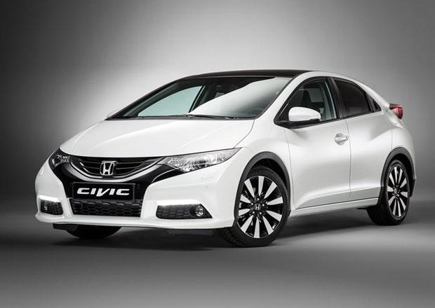 Honda Civic 2014: Paket asistenčních systémů za 22.500 Kč