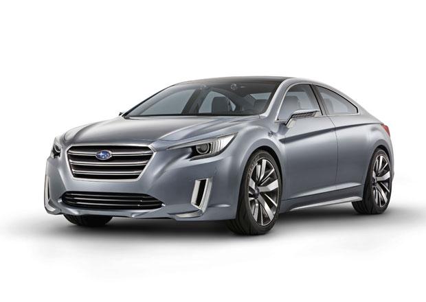 Subaru Legacy Concept: Šestá generace Legacy na obzoru