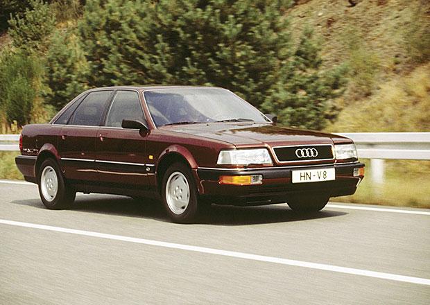 Audi V8: Vstupence čtyř kruhů do luxusního segmentu je pětadvacet
